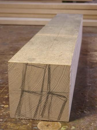 003、木のフォトフレーム、タモ材.jpg