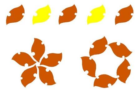 005、虫食いの葉のマグネット.jpg