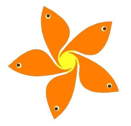 015、アートなマグネット「金魚ー2」.jpg