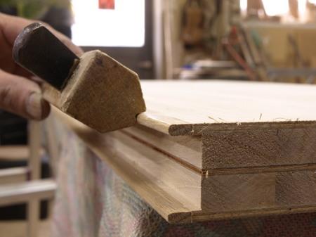 ナラ突き板の本棚、5-022.jpg