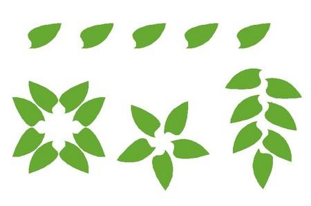004、夏の葉のマグネット.jpg