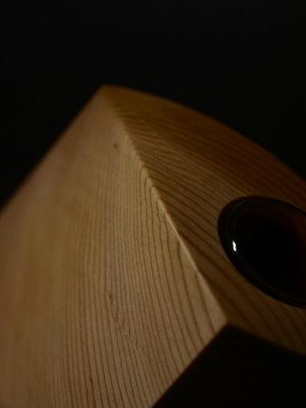 017、木の一輪挿しTriad、ウエスタンレッドシダー.jpg